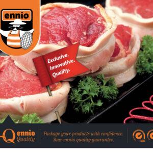 Мрежи за месо и полуфабрикати Ennio Fowl Trusses
