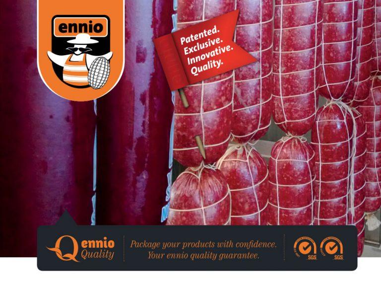 Мрежи за салами и шунки Ennio Netted-Casings