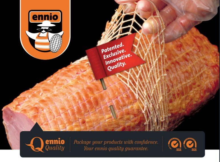 Мрежи за шунки и колбаси Ennio Pre-Fixed Netting