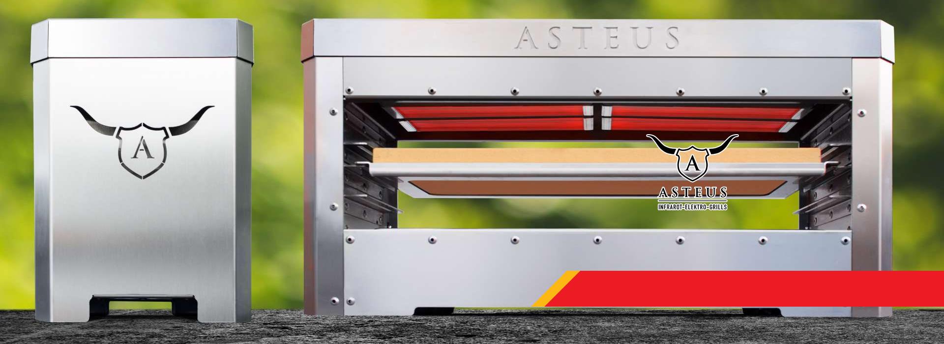 ASTEUS инфрачервен електрически грил за стекове